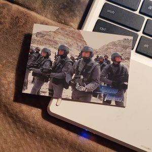 Rasczaks roughnecks starship troopers card
